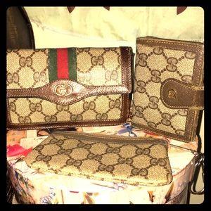 Vintage Gucci Wallet Bundle